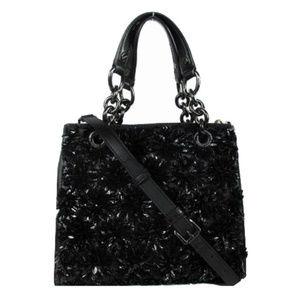 MICHAEL KORS Black Leather Shoulder Bag $648.00